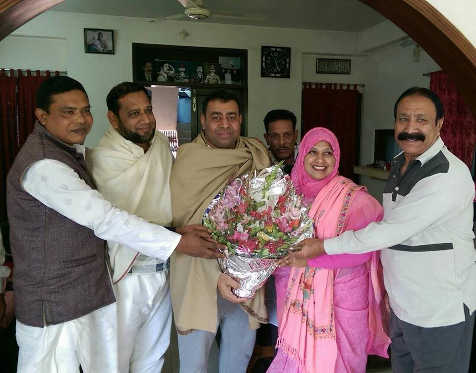 Firoz with Mp
